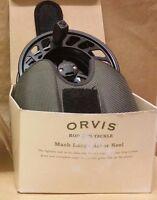 Clearance: Orvis Mach Vi Fly Reel 10-13 Black (61y8-61-10) Ex-demo