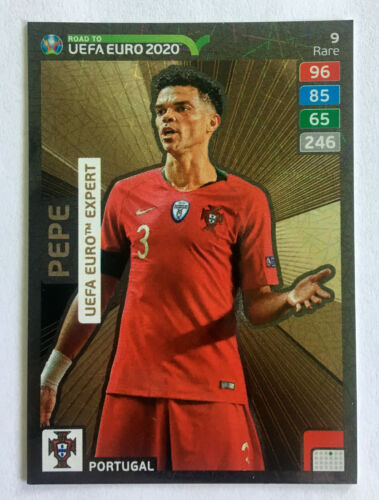 Ronaldo INVINCIBLE 2020 PANINI ROAD à l/'UEFA EURO RARE Top Master Expert