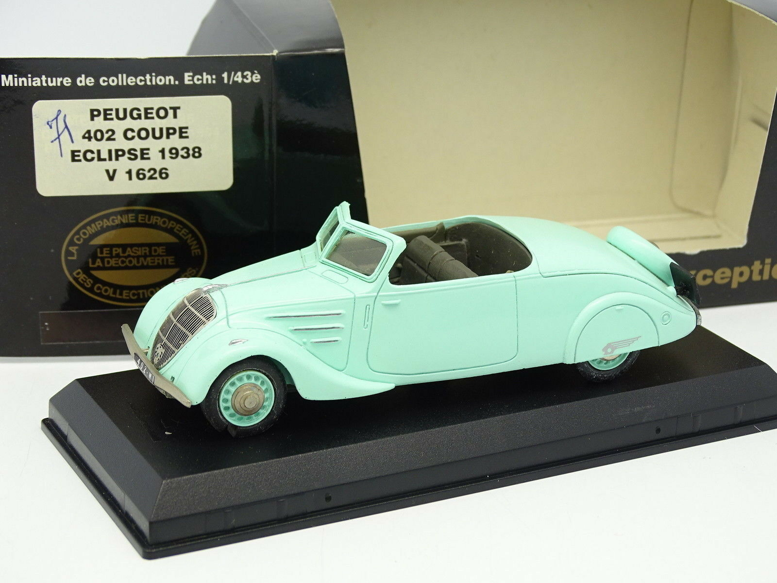 Elysee Harz 1 43 - peugeot 402 eclipse 1938 by cec