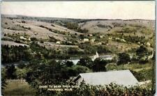 DIGBY to BEAR RIVER DRIVE, Nova Scotia  Canada  PANORAMA  1907 Postcard