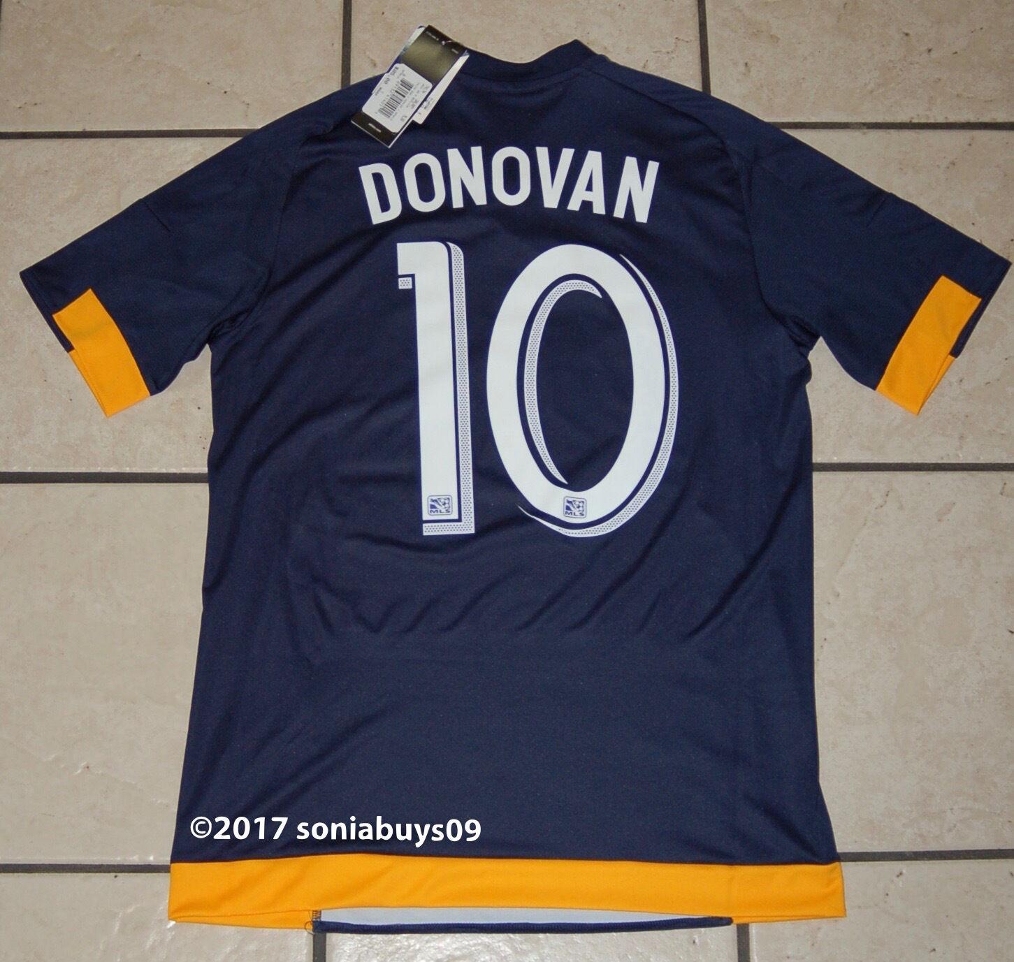 a23d6ecbd0c Adidas Men s DONOVAN MLS L.A Galaxy Away Soccer Jersey