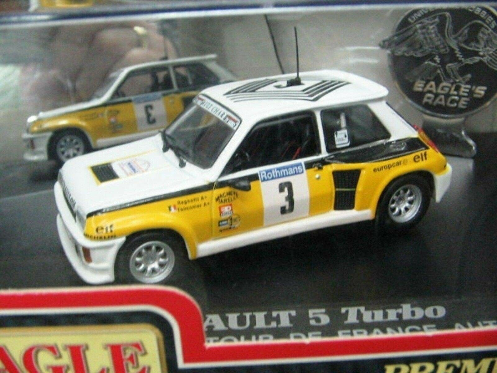 WOW EXTREMELY RARE Renault 5 Turbo WRC Ragnotti Td France 1984 1 43 UH-Spark