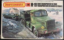 MATCHBOX PK-174 - M-19 TANK TRANSPORTER 45 TONS - 1:76 - Modellbausatz - Kit