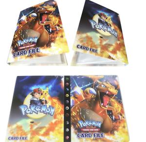 Pokemon-Card-Binder-Solgaleo-and-Lunala-Pocket-Album-Portfolio-Holder-Holds