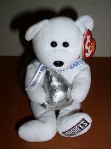 Ty Beanie Baby HUGSY Hershey Walgreen Bear, 2006, Mint With Tag!