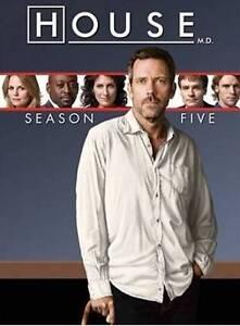 House-M-D-Season-Five-New-DVD-Free-Shipping-Ships-Fast