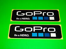 GO PRO GOPRO HERO 2 3 HD BLACK SILVER WHITE EDITION CAMERA STICKERS DECALS (^*)
