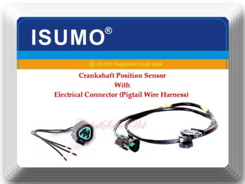 MD349080 Crankshaft Position Sensor w// Pigtail Fits:Chrysler Dodge /& Mitsubishi