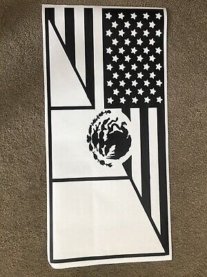 USA Flag Decals fits Rear window 3rd Gen 1995-2002 Toyota 4Runner TRD Pro FR11