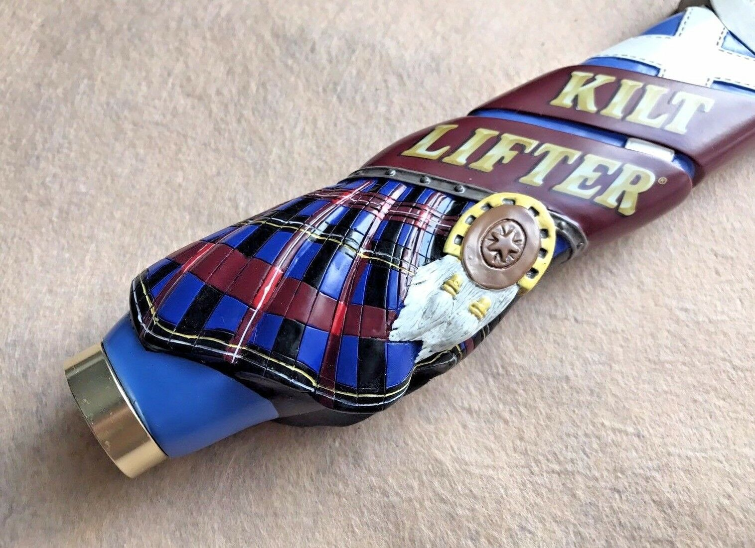 Four Peaks Kilt Lifter Scottish Beer Draught Tap Bar Handle Tap Handles NEW