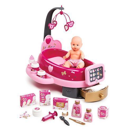 Smoby 220317 Baby Nurse Elektronische Puppenpflegestation  | Eine Große Vielfalt An Modelle 2019 Neue