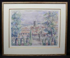 Helen-Vogt-1902-1994-Ansicht-Meknes-Marokko-Druck-Victor-Proven-Orientalismus