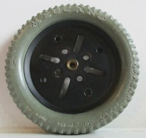 Meccano-142b-Grey-Tyre-3-034-Interior-w-Black-Pulley-19b-3-034-Original-Used-1st