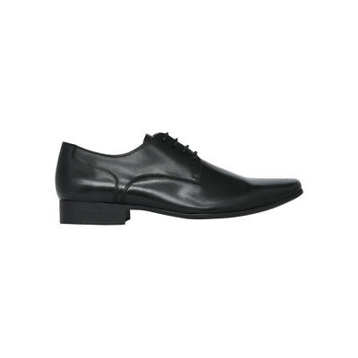 NEW Julius Marlow Grand Plain Derby Lace Up Black