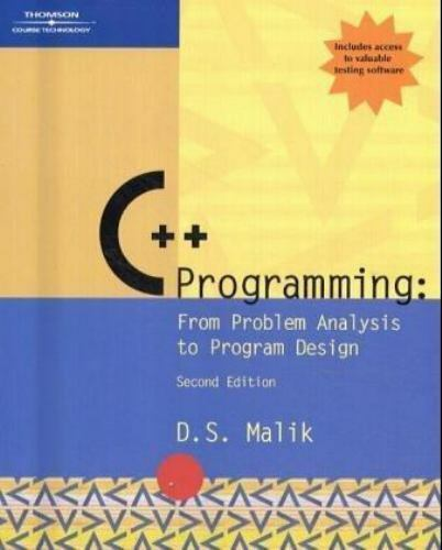 C Programming From Problem Analysis To Program Design By D S