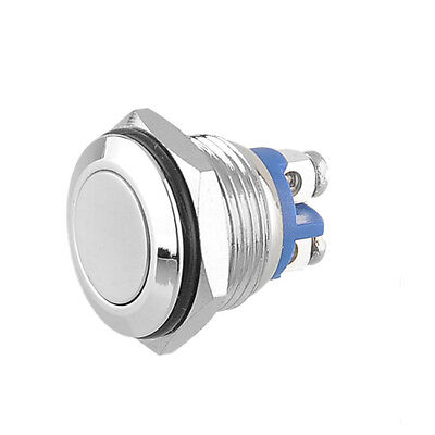 Anti-vandal Waterproof Start Horn Momentary Stainless Metal Push Button Switch