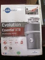 Insinkerator Essential Xtr Evolution 3/4 Hp Single Phase Garbage Disposal