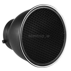 """7"""" Standard 60° Honeycomb Grid Lamp Shade for Studio Strobe Flash Light Speedlit"""