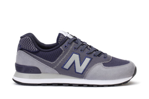 New Balance Men/'s Running Sneakers 574 Engineered Mesh Gunmetal Pigment ML574EMN