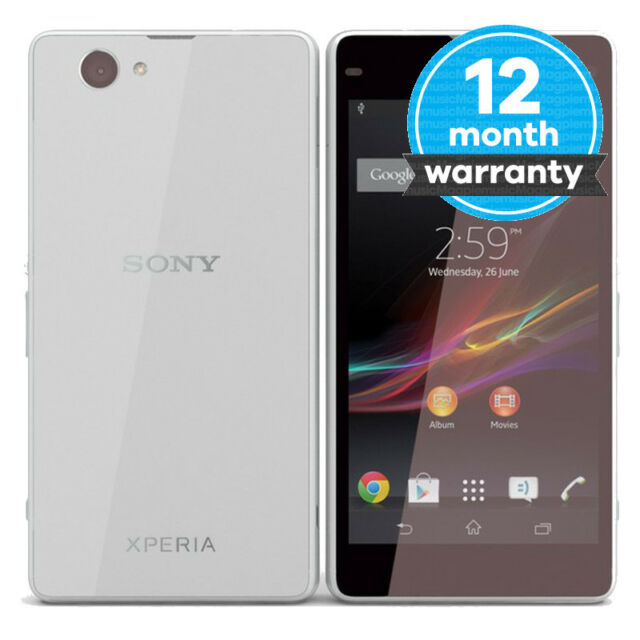 Sony Xperia Z1 Compact D5503 - 16GB - White (Unlocked) Smartphone