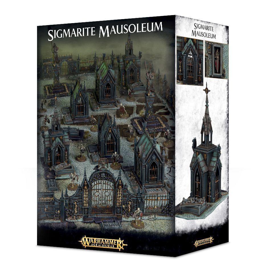 Warhammer 40k  sigmarite mausolée GWS 64-49 NEW IN BOX