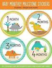 Baby's Monthly Milestone Stickers - Dinosaurs: 12 Stickers: One for Each Month! by Peter Pauper Press (Hardback, 2016)