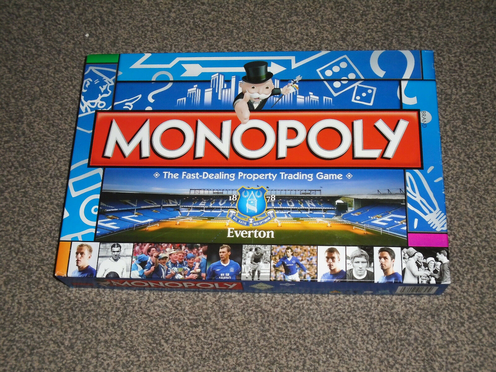 Monopoly  about football club 2011 seltene ausgabe - in vgc (ohne uk p & p)