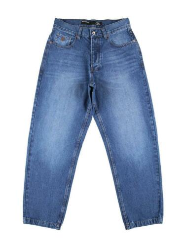 Rocawear Männer Baggy Jeans Fit in blau Denim Skater Übergröße W30 bis W46