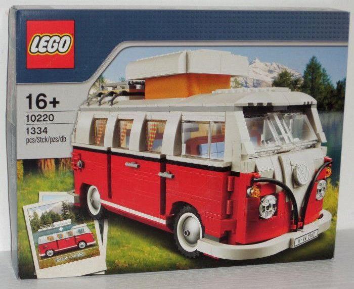 Lego Sculptures Volkswagen T1 Camper (VW Bus) 10220 neu/new