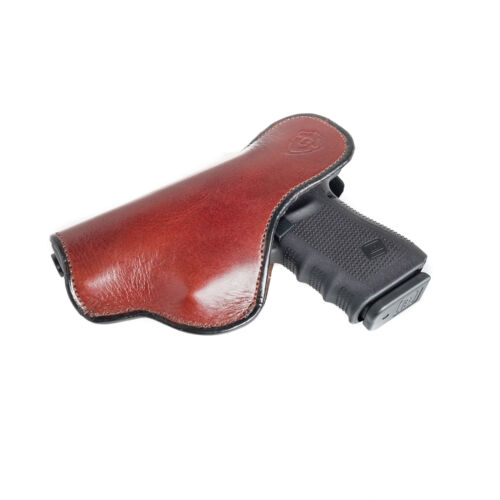 CONCEAL CARRY. INSIDE THE PANTS IWB SOFT LEATHER HOLSTER FOR S/&W M/&P 22