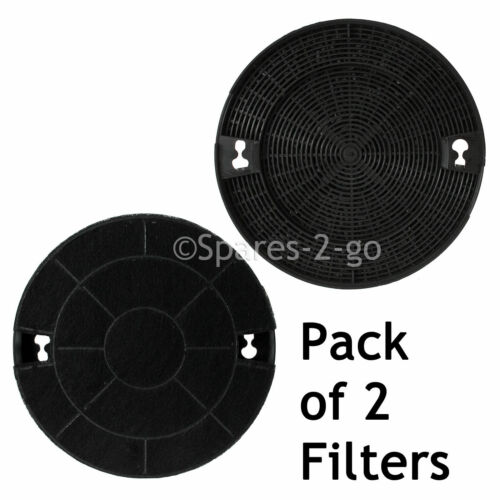 2 x Filtres à Charbon pour INDESIT H561 H562 H563 H573 DO29 pour Hotte de Cuisinière Extracteur