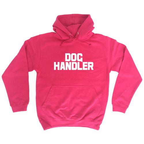 Dog Handler Chest And Back HOODIE hoody trainer uniform workwear walker gift