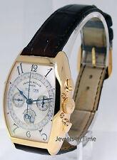 Franck Muller Master Calendar 18k Yellow Gold Chronograph Mens Watch 6850 CC MC