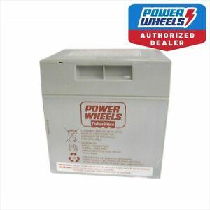 Power-Wheels-W9418-Jeep-Wrangler-12-Volt-Gray-Battery-Genuine-Fisher-Price