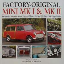 BOEK/LIVRE: MINI MK I & MK II cooper,moke,hornet,elf,van,pick-up,estate oldtimer
