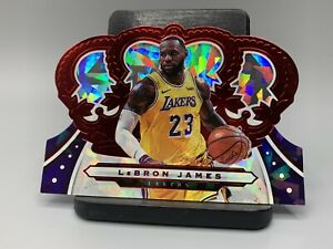 2019-20-Crown-Royale-Lebron-James-Red-d-11-49-Lakers-SSP