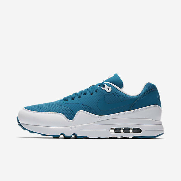 New Nike Men's Air Max 1 Ultra 2.0 Essential Shoes (875679-402)  Industrial Blue