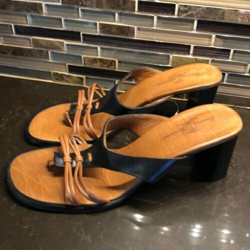 Tommy Bahama strappy leather sandals