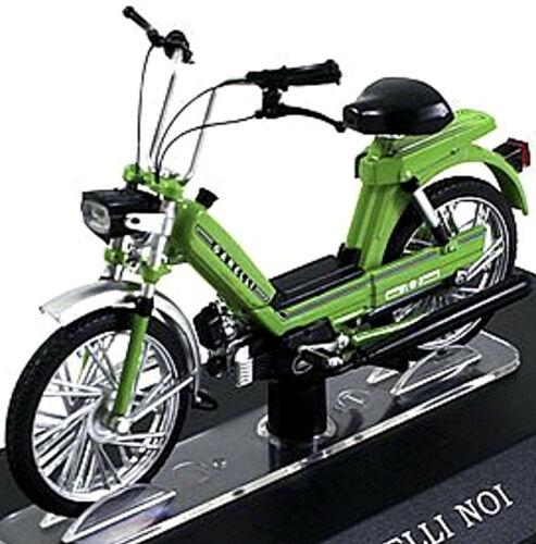 Garelli noi 50 cc 1979 ciclomotor moto verde Green 1:18 Atlas