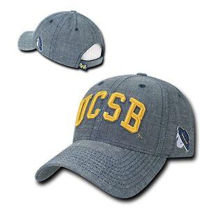 UC-Santa-Barbara-Gauchos-UCSB-NCAA-Cotton-Structured-Denim-Baseball-Ball-Cap-Hat