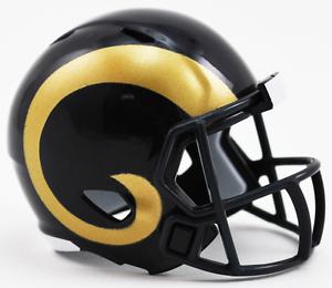 Details About Los Angeles Rams Nfl Riddell Speed Pocket Pro Mini Football Helmet