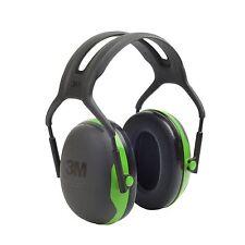 3M Peltor X1A Ear Defenders Headband Hearing Protection SNR 27dB Earmuffs Green