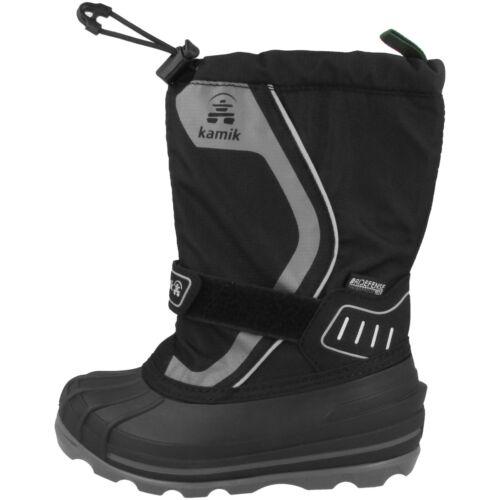 Kamik Snowcoast4 Kinder Winterstiefel Boots Stiefel black Schuhe NK8852-BLK
