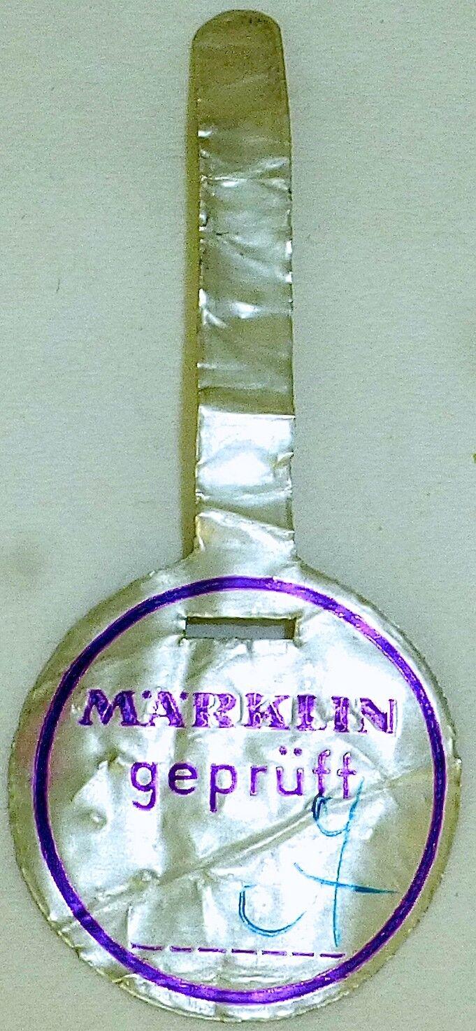Prüfsiegel purple MÄRKLIN å