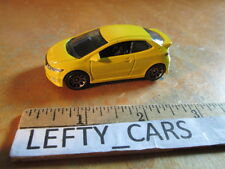 MATCHBOX YELLOW HONDA CIVIC TYPE R SCALE 1:61- LOOSE! NO BOX!