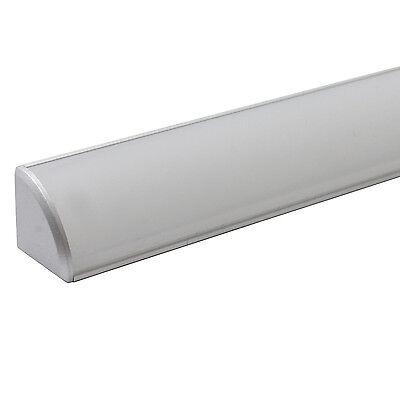 LED Aluminium Alu Profil Leiste Lichtleiste Profilleiste Schiene für LED Stripes