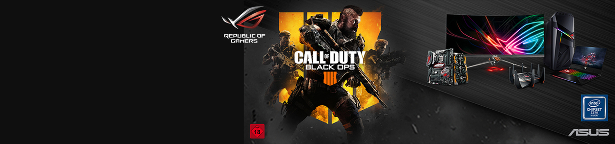 Aktion ansehen DOMINATE WITH THE BEST GEAR Kostenlos dazu! CoD Black Ops 4 zum Launch