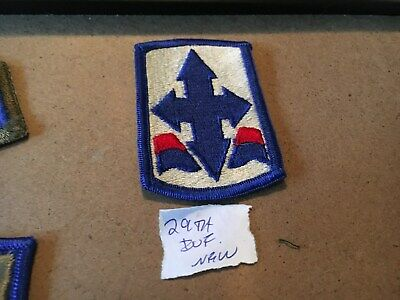 US Army 205th Infantry Brigade uniform shoulder patch m//e