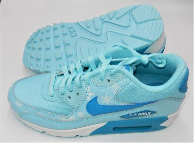 Nike Kid's Air Max 90 Premium Mesh (GS) Running Shoe