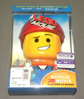 The Lego Movie Everything Is Awesome Edition Dvd Blu Ray 3d Combo Pack Vitruvius